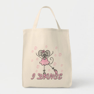 Mouse Ballet Tshirts and Gifts Canvas Bag