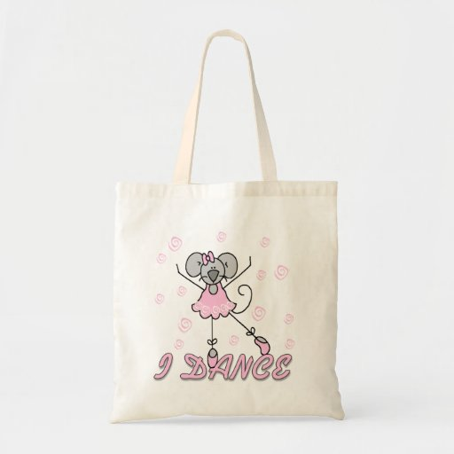 Mouse Ballet Tshirts and Gifts Tote Bag