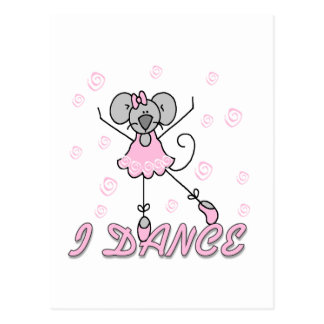 Mouse Ballet Tshirts and Gifts Postcard
