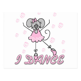 Mouse Ballet Tshirts and Gifts Post Cards