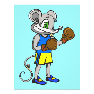 Mouse Boxer Flyers