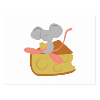 Mouse & Cheese Postcards