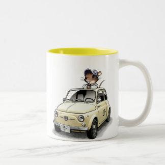 Mouse&Cinqu - Mug- Two-Tone Coffee Mug