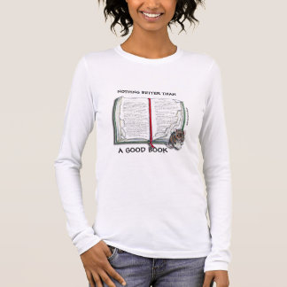 Mouse Eating a Good Book T-shirt