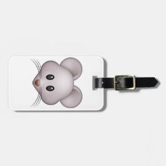 Mouse - Emoji Bag Tag