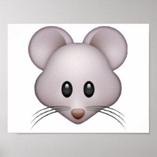 Mouse - Emoji Poster