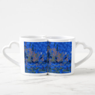 Mouse in a hole couples mug