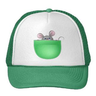 Mouse In Pocket Trucker Hat