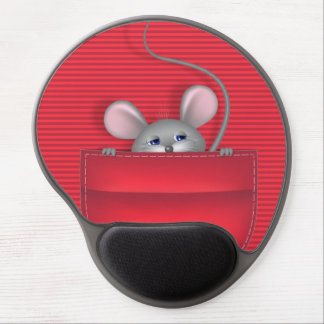 Mouse in Pocket Gel Mouse Pads
