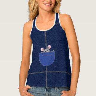 Mouse in Pocket Singlet