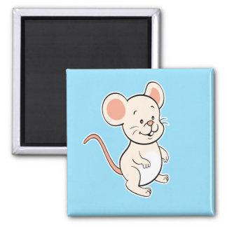 Mouse magnet blue