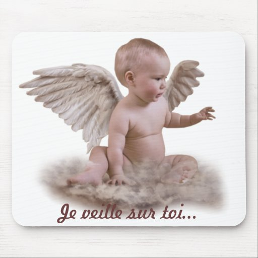 Mouse mat angel mouse pad