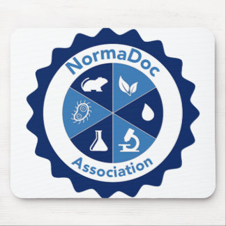 Mouse mat - Blue NormaDoc Logo