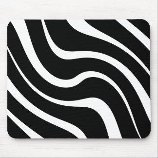 "Mouse mat - Design : ""Kenya"" - Black and white"