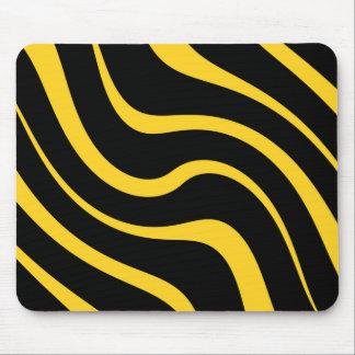"Mouse mat - Design : ""Kenya"" - Yellow on black"