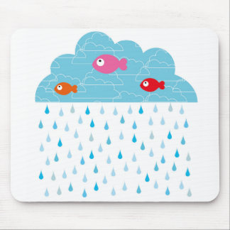 "Mouse mat ""fish in the clouds """