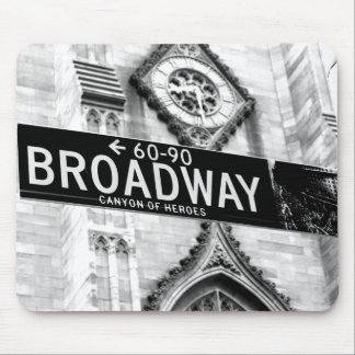 mouse mat New York Broadway
