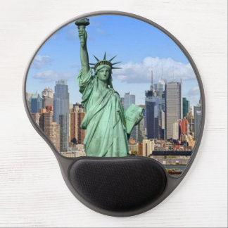 mouse mat newyork gel mouse pad