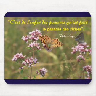mouse mat quotation Victor Hugo