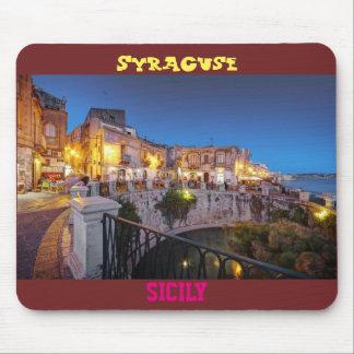 "Mouse mat ""Syracuse, Sicily """