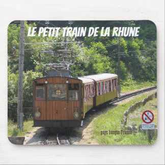 "mouse mat ""train of Rhune"" 64 France"