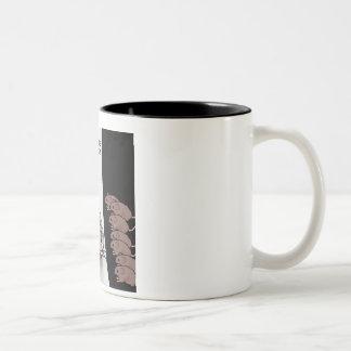 Mouse Model Two-Tone Coffee Mug
