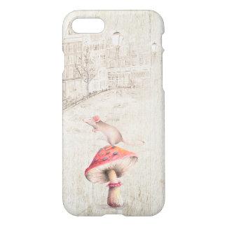 Mouse on Mushroom Case