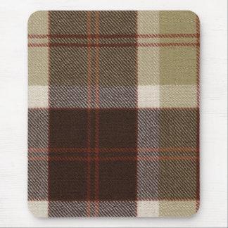 Mouse Pad Bannockbane Tartan Print