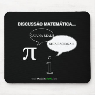Mouse Pad - Discussion between pi and i