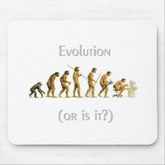 mouse pad - evolution