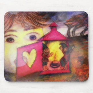 Mouse PAD `` Fairytale visitors´´