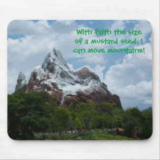 Mouse Pad: Faith the size of a mustard seed Mouse Pad