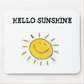 mouse pad, HELLO SUNSHINE Mouse Pad