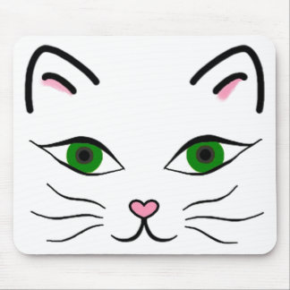 Mouse Pad - Kitty Face