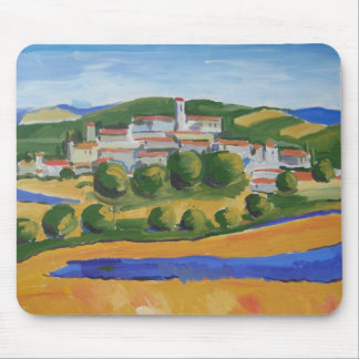 Mouse Pad: Little View of Italy Mouse Pad