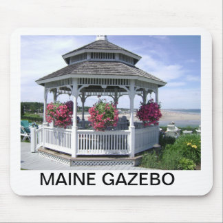 MOUSE PAD - MAINE GAZEBO