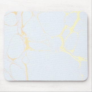 Mouse Pad - Marble Gold Blue