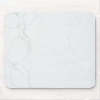 Mouse Pad - Marble Silver