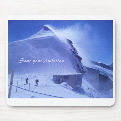 Mouse pad, motivational message, cards