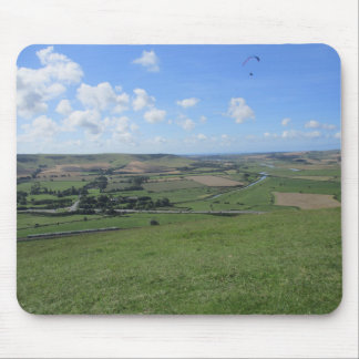 Mouse Pad / Mouse Mat With Distant Hill Picture