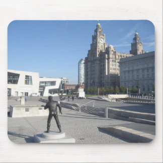 Mouse Pad / Mouse Mat With Liverpool Scene