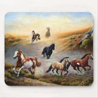 Mouse pad - painted desert