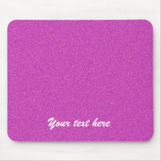 Mouse Pad Personalized Custom Hot Pink