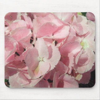 Mouse Pad - Pink Hydrangeas