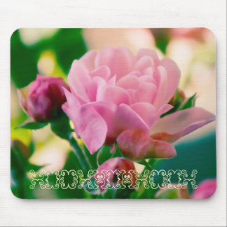Mouse Pad_Pink Rose Mouse Pad