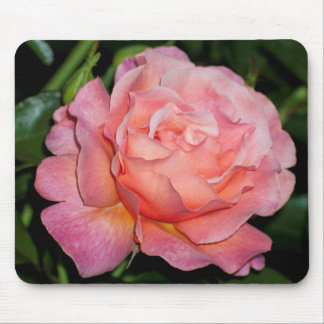 Mouse Pad, Pink Rose Mouse Pad