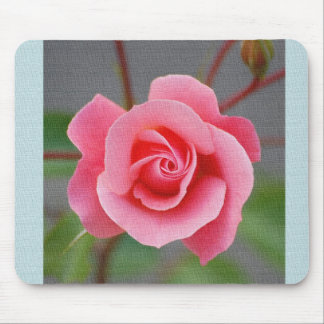 Mouse PAD, rose Mouse Pad