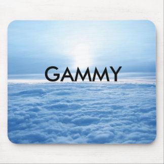 Mouse pad Sky Clouds Relaxing Gammy Grandmother