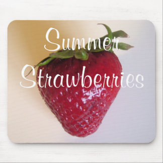 Mouse Pad - Summer Strawberries