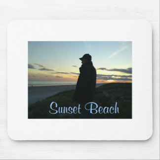 Mouse Pad -Sunset Beach